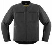 Icon 1000 AXYS Leather Jacket Black